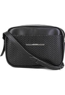 Bolsa Anacapri Mini Bag Eco Montreal Feminina - Feminino-Preto