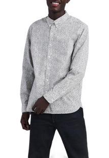 Camisa Levis Pacific No Pocket Masculina - Masculino-Branco