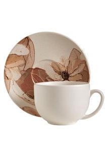 Xícara De Chá Terraflora 260 Ml - Home Style