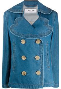 Lanvin Jaqueta Jeans Oversized - Azul