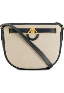 Mulberry Brockwell Canvas Smooth Shoulder Bag - Azul