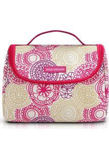 Bolsa Tã©Rmica Com Alã§A Jacki Design Ahl17290 Pink - Pink - Feminino - Dafiti