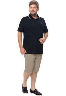 Camisa Polo Tradicional Piquê Stretch Wee!