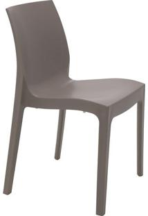 Cadeira Alice Satinada- Cinza Escuro- 80,5X49,5X51,5Tramontina