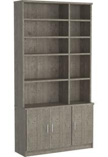 Estante Livraria 3 Portas 1280 Demolição M Foscarini