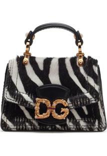 Dolce & Gabbana Bolsa Tote Dg Amore Micro - Preto