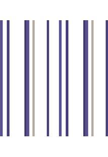 Papel De Parede Lyam Decor Listra Soft Azul