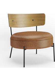 Poltrona Arco Assento Estofado Base Aço Carbono Coleção Bari Tremarin Design By Ambos Studio