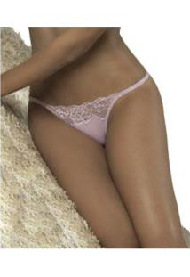 Calcinha String Com Renda Delrio Seduction (52907) Microfibra