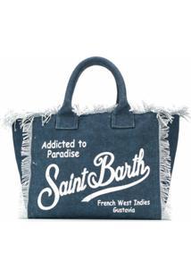 Mc2 Saint Barth Bolsa De Praia Vanity - Azul