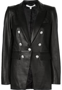 Veronica Beard Fitted Jacket - Preto