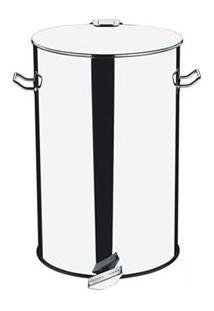 Lixeira Com Pedal Decorline Inox Com 75 Litros De Capacidade - Brinox