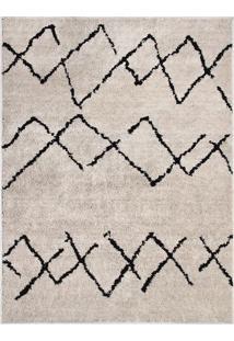 Tapete Art- Bege & Marrom Escuro- 150X100Cm- Oasoasis