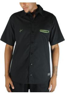 Camisa Outlawz Black Military