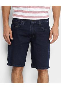 Bermuda Jeans Hurley One&Only Masculina - Masculino-Marinho