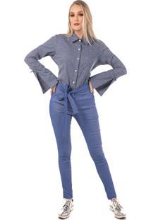 Camisa Monacri Impulsiva Azul Claro