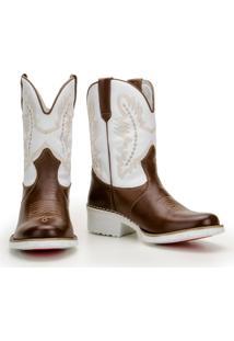 Bota Texana Country Capelli Boots Com Palmilha Gel Confort Masculina - Masculino