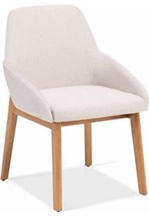 Cadeira Loren Estofada Design Contemporâneo Casa A Móveis