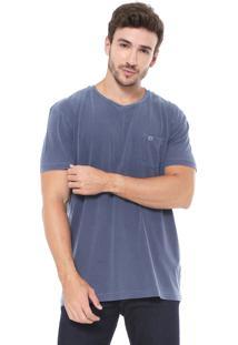 Camiseta Richards Bolso Azul