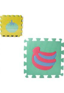Tapete De Eva Casaroque Frutas Multicolorido