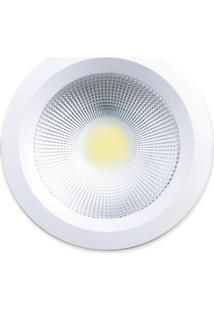 Luminária De Embutir Startec Cob 15W 3000K Redondo 15,8Cm X 4,8Cm Branco