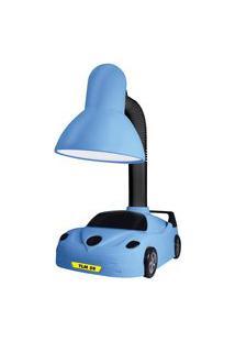Luminária De Mesa Taschibra Tlm50 Kids E27 Articulável Bivolt Azul
