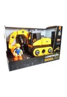 Kit Construção Delux Trator Faça Você Mesmo Zoop Toys Zp00423