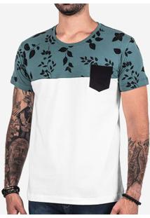 Camiseta 1/3 Folhas 102258