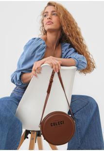 Bolsa Colcci Logo Caramelo - Caramelo - Feminino - Dafiti