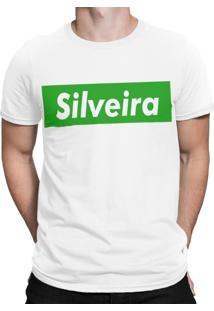 Camiseta Artseries Praia Do Silveira Santa Catarina Branco