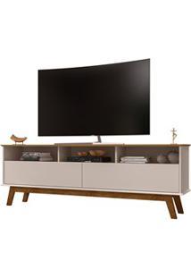 Rack Bancada Para Tv Até 65 Polegadas Elegant Cinamomo/Off White - Bec