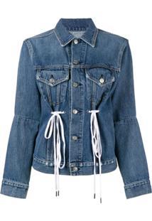 Proenza Schouler Jaqueta Jeans 'Pswl' - Azul