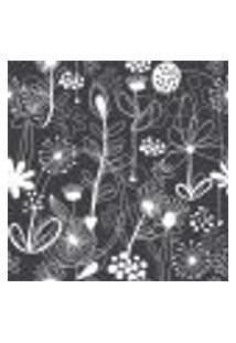 Papel De Parede Adesivo - Flores Em Linhas - 053Ppf