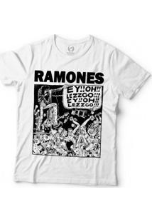 Camiseta Blitzart Ramones - Let'S Go!