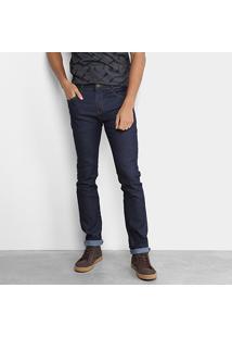 Calça Jeans Skinny Coca-Cola Escura Masculina - Masculino
