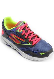 ... Tênis Skechers Go Run Vortex Feminino - Feminino-Roxo+Rosa 5d563ccd36616