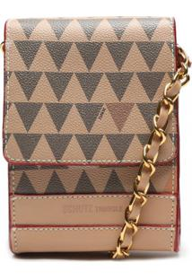 Bolsa Crossbody New 4Girls Triangle Schutz S500181400