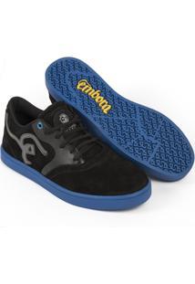 Tênis Embora Footwear Supremo Masculino - Masculino-Preto+Azul
