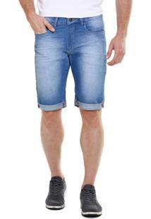 Bermuda Masculina Em Jeans Marisa