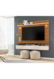 Painel Para Tv Até 60 Polegadas Lana 1.8 Naturale E Off White
