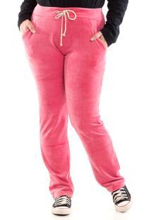 Calça Konciny Plush Rosa