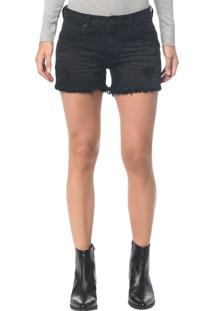 Shorts Color Five Pockets - Preto - 36
