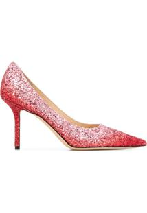 Jimmy Choo Scarpin Love 85 - Rosa