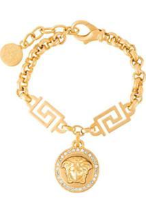 Versace Pulseira Dourada - Metálico