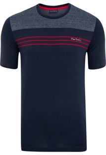 Camiseta Listradora Marinho Stylus