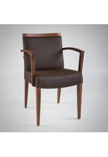 Cadeira Com Braço Prime Ii Madeira Maciça Design Exclusivo By Studio Artesian