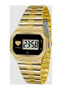 Relógio Feminino Lince Digital Sdg4479Lbpkx