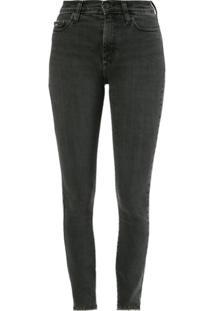 Nobody Denim Calça Jeans Cult Skinny Ankle - Preto