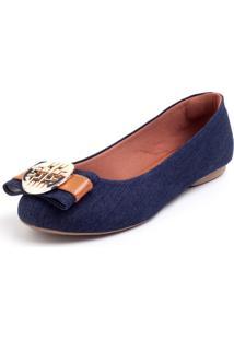 Sapatilha C&K Jeans Azul