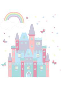 Adesivo De Parede Infantil Para Quarto Castelo Encantado